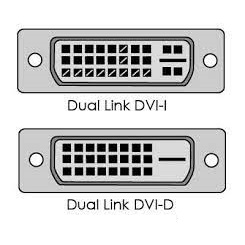 Difference between DVI-I & DVI-D