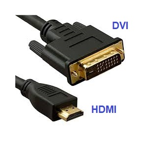 CHOOSE DVI or HDMI